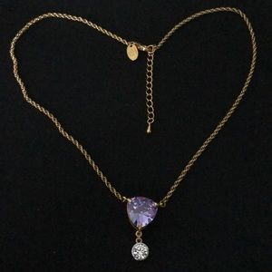 Unused Heart Necklace Gold